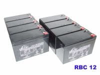 8x Leoch LP12-7.0S - UPS Replacement Battery Pack